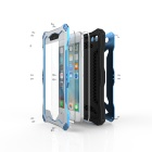 R-JUST Sport Full Body Waterproof Case for IPHONE 6PLUS - Black + Blue
