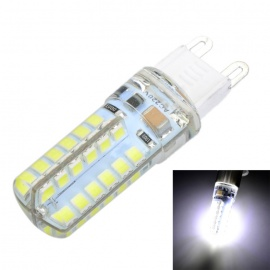 G9 6W 500lm Cold White Light 46-SMD LED Silicone Seal Bulb (AC 220V)