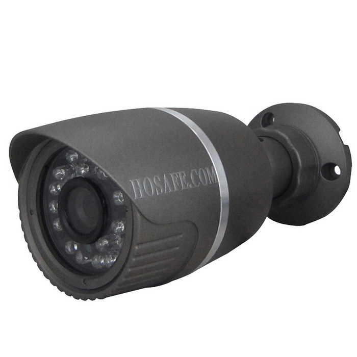 HOSAFE 13MB1G 1.3MP 960P HD IP Camera w/ 24-IR-LED - Black (EU Plug)