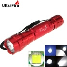 UltraFire WF-501B 8-Mode 800lm XM-L T6 White Light LED Memory Flashlight Torch - Red (1 x 18650)