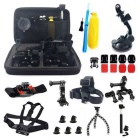 25-in-1 Sports Camera Accessories Kit for GoPro Hero 4 / 3 / 3+ / SJ4000 / SJ5000 / SJCam / Xiaoyi