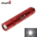 Ultrafire 8-Mode XM-L2 U2 2.8A 800lm 1-LED Memory Flashlight Torch - Red (1 x 18650)