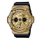 Genuine Casio G-Shock GA-200GD-9B2CR Men's Analog-Digital Watch- Black Band Gold Dial