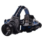 RichFire XM-L2 U2 1-LED 800lm 3-Mode Cool White Zooming Headlight Headlamp - Black (4 x AA)