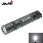 Ultrafire 8-Mode XM-L2 U2 Cool White LED Flashlight - Grey