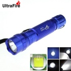 UltraFire WF-501B 8-Mode 800LM T6 фонарик LED памяти - синий