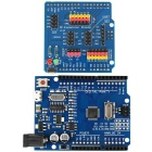 UNO R3 ATmega328P Development Board + IO Expansion Shield for Arduino