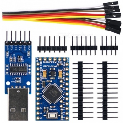 Pro Mini ATmega328P 16MHz Development Board Kit for Arduino