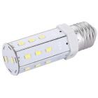 E27 7W LED Corn Light Bulb White Light 20-5630 SMD 620lm 6000K (AC100~240V)