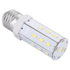 E27 7W LED Corn Light Bulb Cold White 20-5630 SMD 620lm (AC100~240V)
