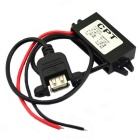 MaiTech 12V to 5V DC-DC Reduction Voltage Power Adapter / USB Car Charger - Black