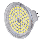 MR16 (GU5.3) 5W LED Spot Bulb White Light 60-2835 SMD 450lm 6000K ( AC/DC 12V )