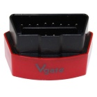 Vgate Super Mini Bluetooth 3.0 V2.1 Vehicle OBD-II Code Reader Scanner Diagnostic Tool - Red + Black