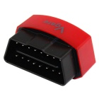 Vgate Bluetooth 3.0 V2.1 Vehicle OBD-II Code Scanner - Red + Black