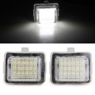 QooK JHBK040001 1.44W Car License Plate White LED for BENZ W221 (2PCS)