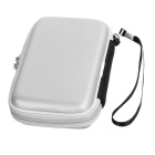 Multifunctional PU Storage Bag for Laptops Accessories - Silvery White