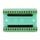 Nano V3.0 Wiring Expansion Board for Arduino - Green + Black (Works with Official Arduino Boards)