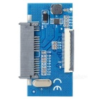 "1.8"" SSD Micro SATA to ZIF Adapter w/ Flex Cable - Deep Blue + Black"