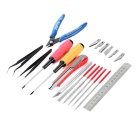 WLXY Model Assembling Tool Kit - Black + Red + Multi-Color