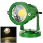 3W COB LED Spotlight / Lawn Lamp Warm White 3500K 160lm - Green (AC 85~265V)