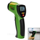 "FLANK 1.2"" LCD Digital Infrared Thermometer - Green + Black"
