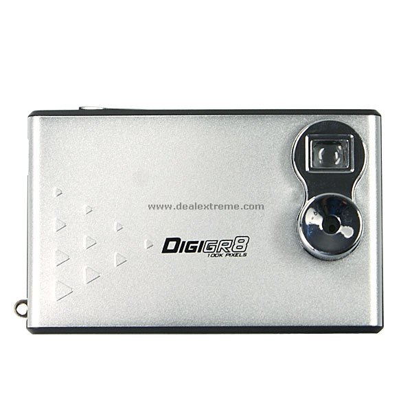 2-in-1 Credit Card Sized Digital Camera and Webcam (100KPixel)