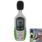 "FLANK Portable 1.5"" LCD Sound Level Meter - Grey + Green (1 x 9V 6F22)"