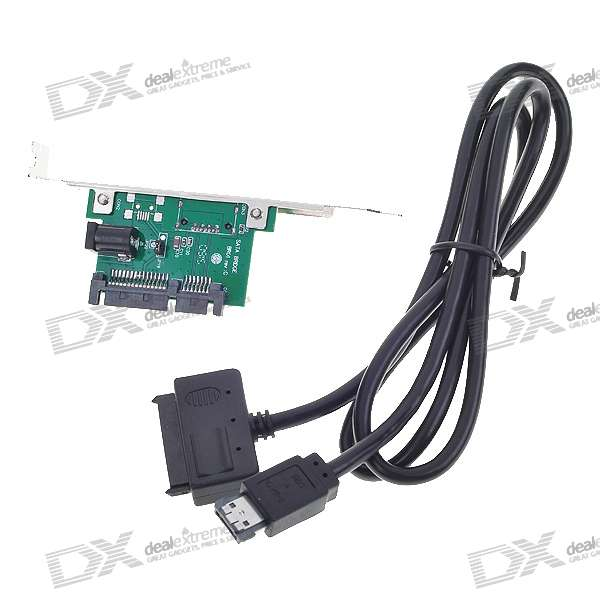"USB/eSATA to SATA Converter Adapter for 2.5"" HDD"
