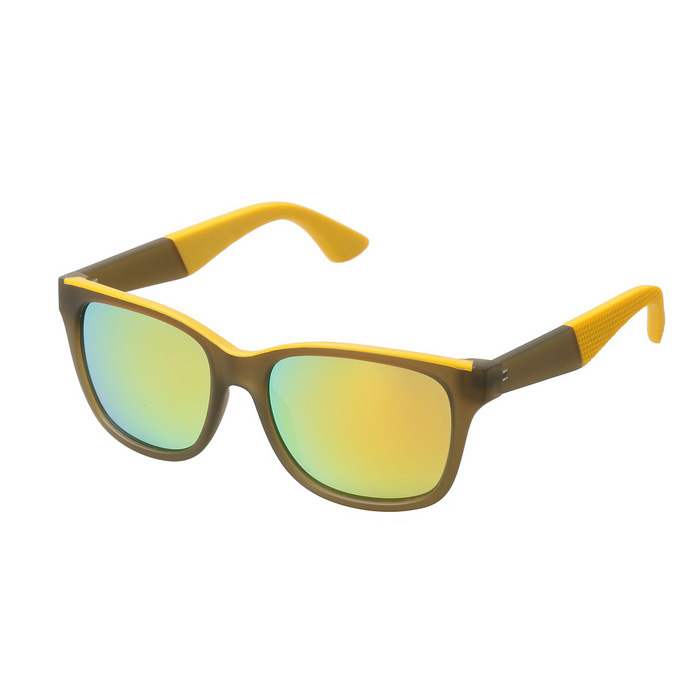 Unisex UV400 Protection TR90 Frame Sunglasses - Brown