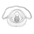 Nontoxic Plastic Mouth to Mouth Breath Mask for First Aid - White