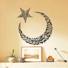High Quality Muslim Design Sitting Room Wall Sticker- Black