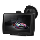 "Win CE 6.0 Car GPS Navigator w/ 5.0"" LCD, TF, 4GB RAM, American + Canadian Map - Black"