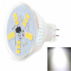 ZHISHUNJIA MR16 5W LED Light Lamp Bulb White 400lm 6000K 15-SMD 5630 - White (12V)