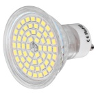 GU10 5W 60-SMD 2835 450lm  6000K White Light LED Spot Bulb ( AC 200-240V )