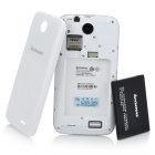 lenovo A560 Android 4.3 telefoon w / 512MB RAM, 4GB ROM - wit