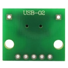 Mini interface USB para 2.54mm DIP 5P módulo adaptador para breadboard DIY