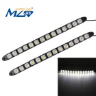 MZ 7W 14-5050 SMD 280lm LED Car Daytime Running Light / Fog Lamp Flexible Snake (Pair 12V)