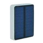Solar Powered USB Power Bank 2200mAh External Battery Powerbank for IPHONE 6 + More - White