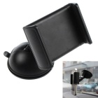 360 Angle Rotating Free Sucked Type Mobile Phone Stand Holder Car Universal Holder - Black