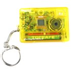 2-in-1 Pocket Digital Spy Camera and Webcam (300KPixel Yellow)