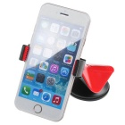 360' Rotating Free Sucked Type Phone Stand Holder for Car - Black+Red