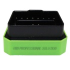 Vgate Bluetooth 3.0 V2.1 Vehicle OBD-II Code Scanner - Green + Black