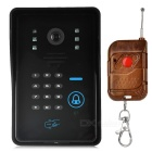 Wireless Wi-Fi Video Doorbell w/ 5-IR-LED / Unlock / PIR / Motion Detection Alarm Function (US Plug)