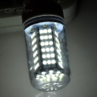 E14 9W LED Corn Lamp Warm White 600lm 108-SMD - White + Beige (5PCS)