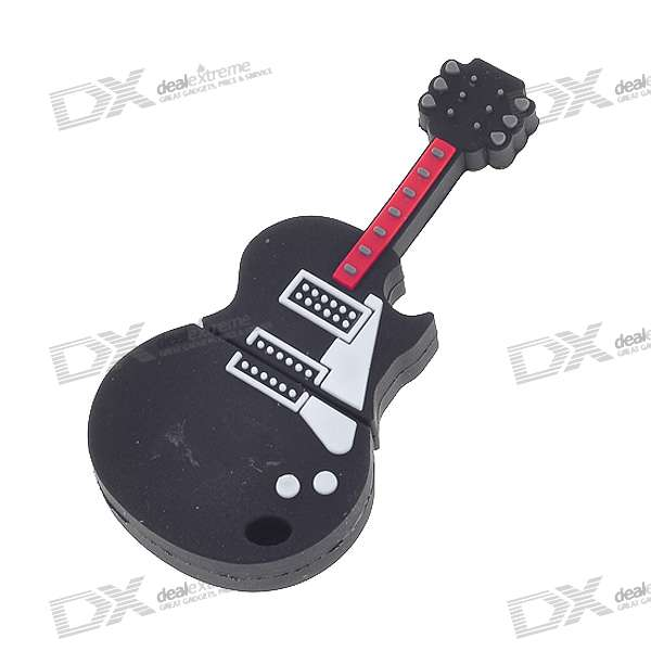 Guitarra USB 2.0 Flash / Jump Drive (4GB)