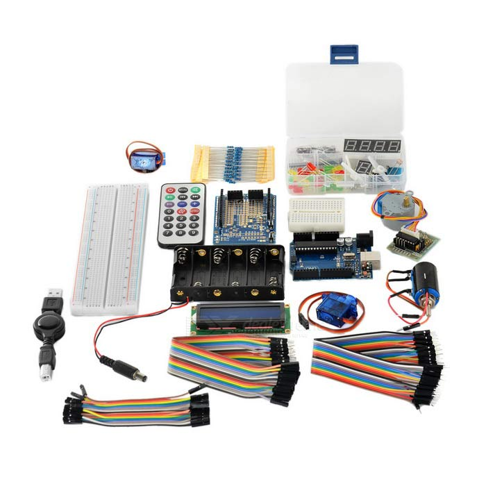 UNO R3 Starter Learning Kit for Arduino - Green