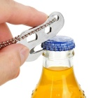 FURA Multifunctional Rope Cutter / Bottle Opener w/ Chain - Silver