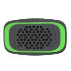 MAIKOU Y15 Outdoor Portable Bluetooth V3.0 Speaker w/ FM, Micro USB, TF, USB 2.0 - Green + Deep Grey