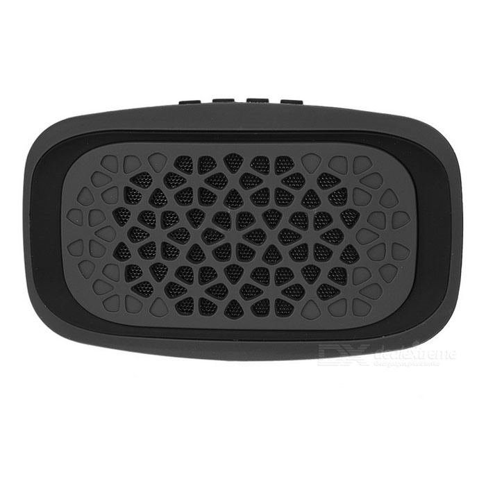 MAIKOU Y15 Bluetooth V3.0 Speaker w/ FM, TF - Black + Deep Grey