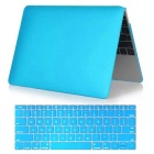 "Mr.northjoe PC Body Case + Keyboard Cover for MACBOOK 12"" - Sky Blue"